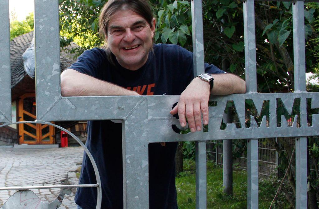 """Michael Klamm fing am 1. September 1989 im Kinder- und Jugendhaus als """"Sozial- und Baupädagoge"""" an, ab 1991 war er Einrichtungsleiter. Foto: Chris Lederer"""