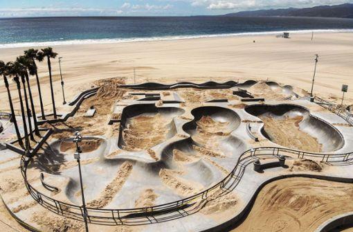 Darum wurde der  Skatepark mit Sand aufgeschüttet