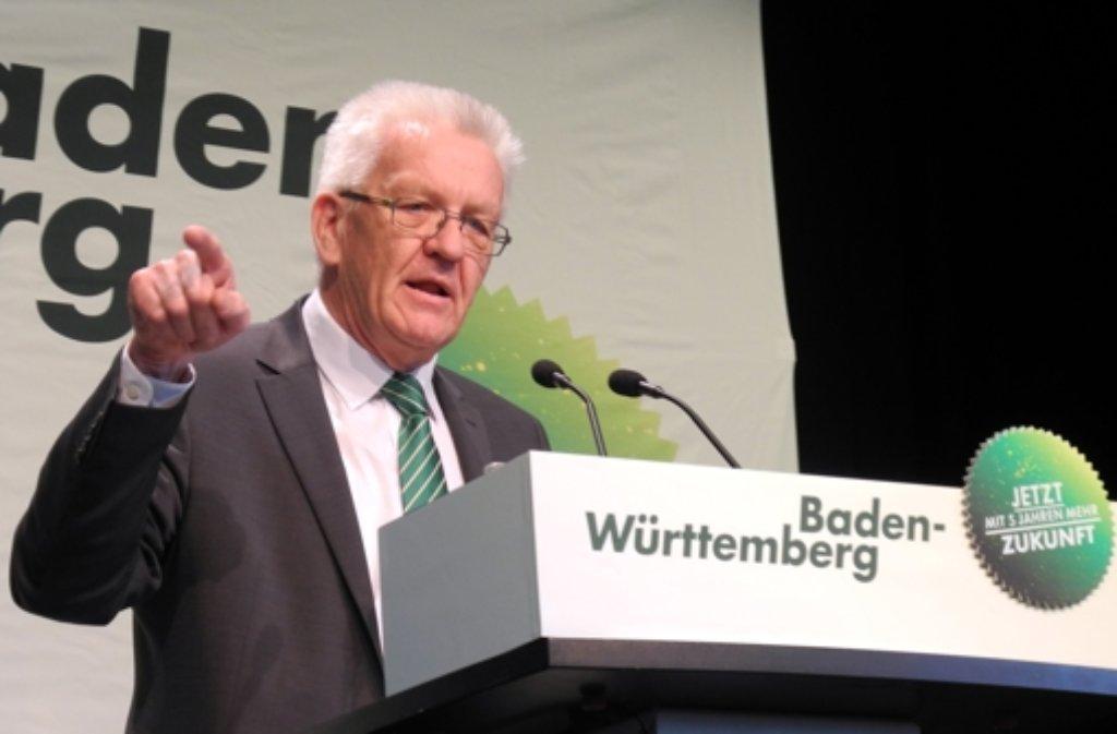 Ein Mann wie das Land. So sehen die Baden-Württemberger ihren Ministerpräsidenten Winfried Kretschmann. Am Ende aber könnte bei der Landtagswahl 2016 doch wieder die CDU das Heft in die Hand bekommen. Foto: dpa