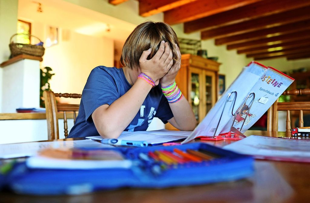 Unkonzentrierte und überforderte Schüler gibt es inzwischen in jeder Klasse. Unkonzentrierte und überforderte Schüler gibt es inzwischen in jeder Klasse. Foto: dpa