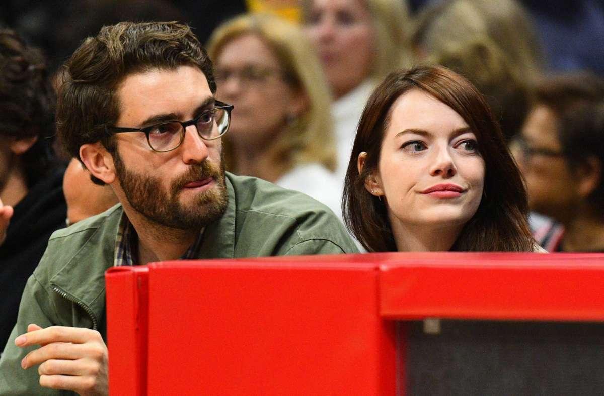 Emma Stone  und Dave McCary sind seit rund zwei Jahren ein Paar. Foto: imago/Brian Rothmuller/Icon Sportswire