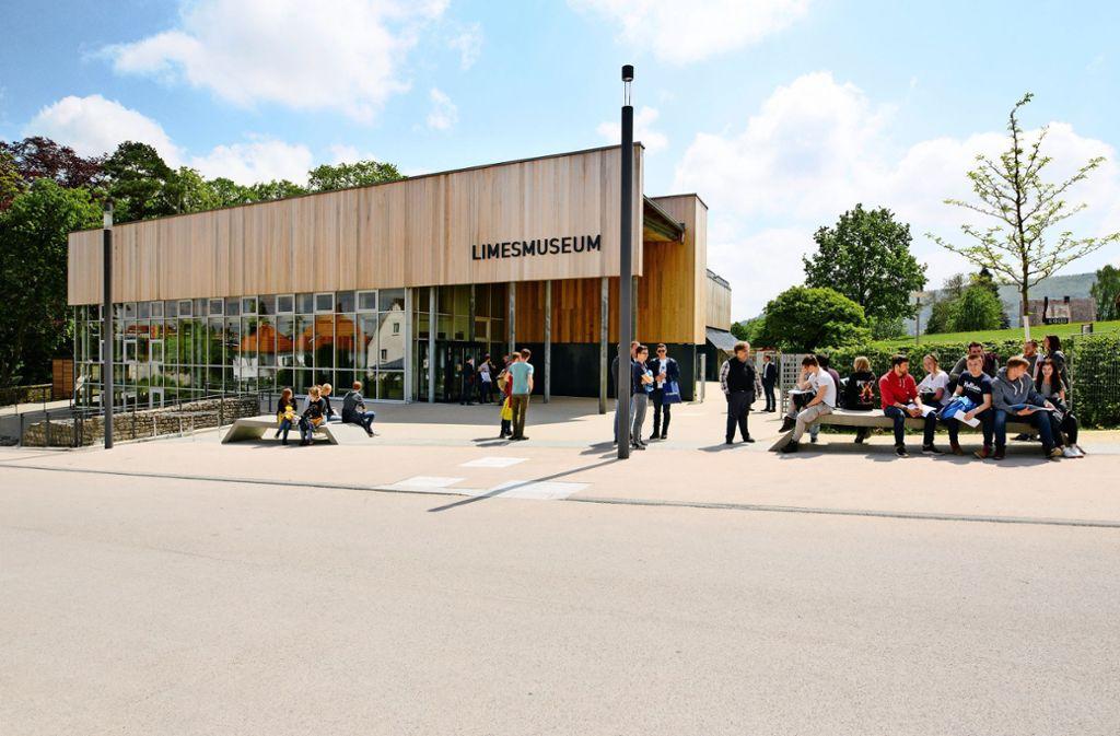 Das Limesmuseum  wurde für 8,5 Millionen Euro saniert. Foto: Atelier Brückner