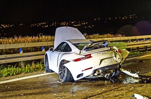 Folgenschwerer Unfall vor dem Tunnel