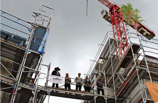 Neubauten sollen Ende des Jahres fertig sein