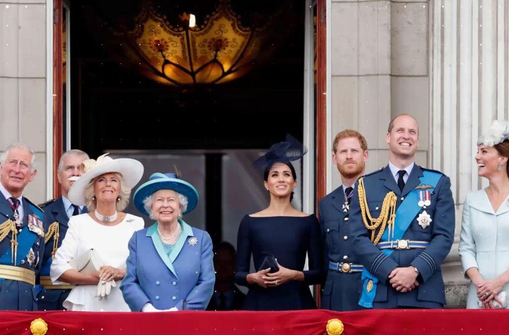 Drei Generationen der britischen Royals vereint. Foto: Glomex/Promipool