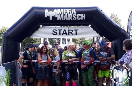 Fast 500 Läufer halten durch bis zum Ziel
