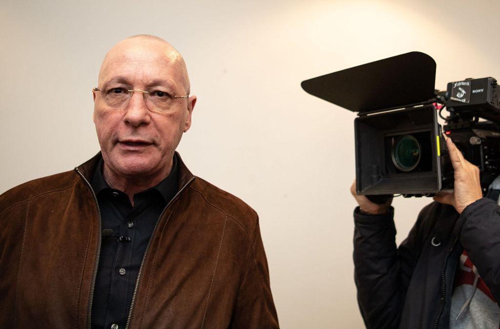 Uwe Hück verteidigt sich öffentlich. Foto: dpa