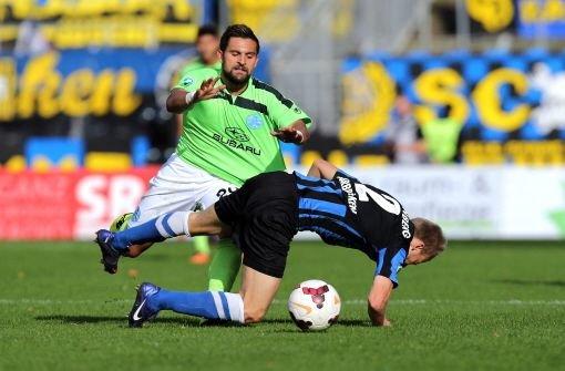 Die Stuttgarter Kickers verlieren 2:3 in Saarbrücken