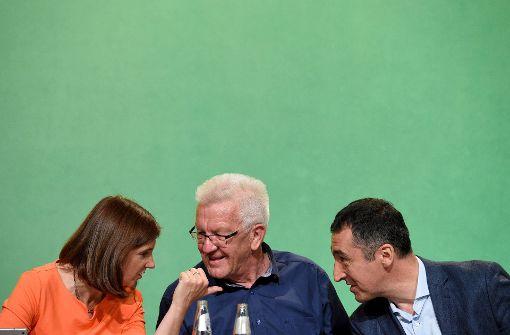 Winfried Kretschmann hilft Grünen im Schlussspurt