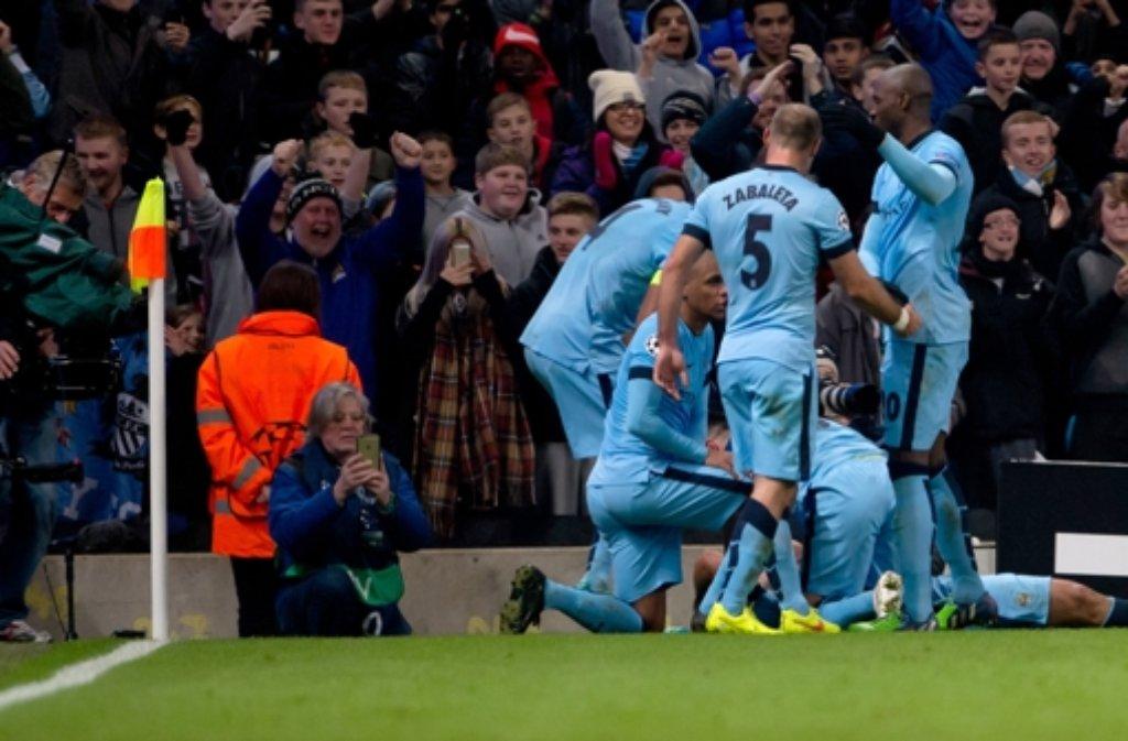 Der FC Bayern München verliert in der Champions League bei Manchester City in allerletzter Sekunde.  Foto: dpa