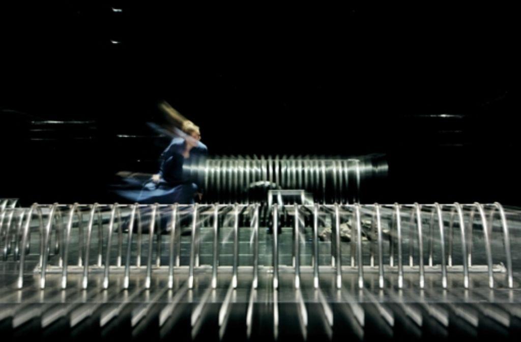 Evelyn Herlitzius spielt in Bayreuth die Isolde. Foto: Festspiele Bayreuth/Enrico Nawrath/dpa