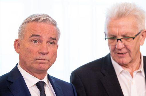 CDU laut Umfragen im Südwesten weiter hinter den Grünen