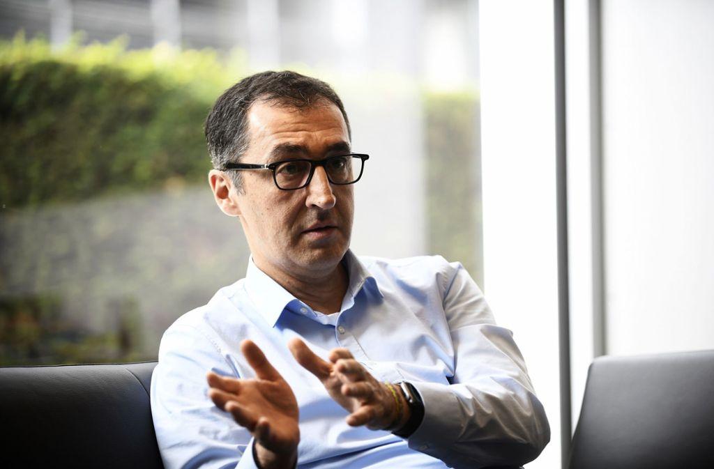 Cem Özdemir will wieder in die erste Reihe der Bundespolitik. Foto: LIPICOM/Michael H. Ebner