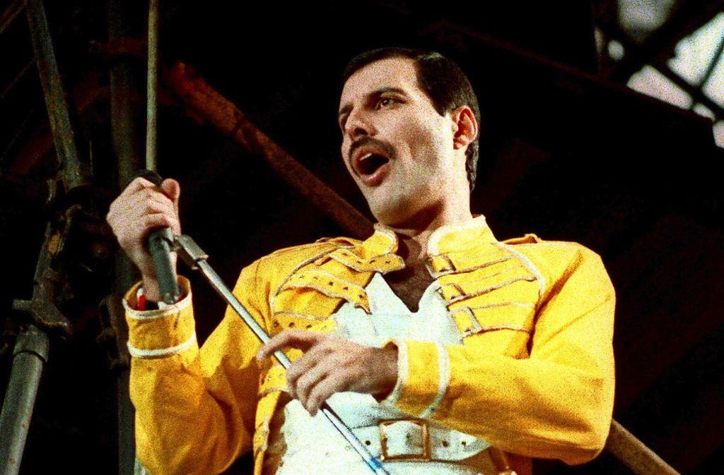 Freddie Mercury im Jahr 1986: Nach seinen Konzerten in Stuttgart besuchte er immer wieder den Kings Club. Foto: AP