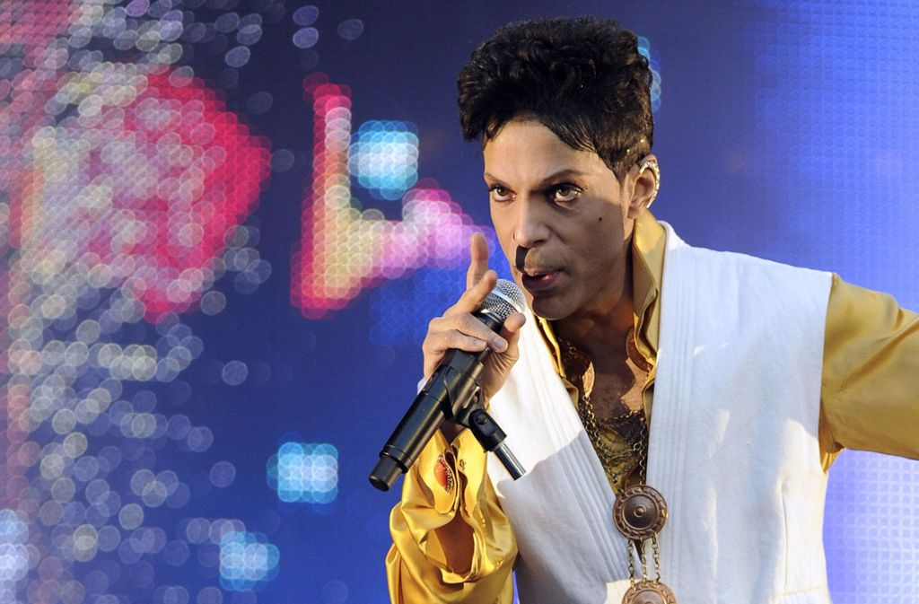 Der Popmusiker Prince hat eine unvollendete Autobiografie hinterlassen. Foto: AFP
