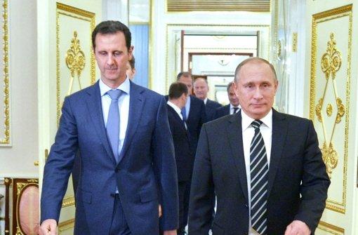 Den Regierungstruppen sind in den letzten Wochen dank der russischen Militärhilfe große Bodengewinne geglückt. Es sollen auch russische Bodentruppen im Land sein. Foto: dpa