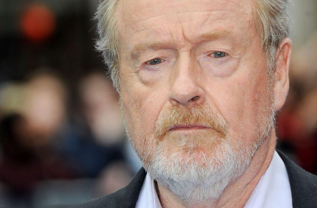 """Der Regisseur Ridley Scott war wegen der Metoo-Kampagne in großer Sorge um seinen Film """"Alles Geld der Welt"""". Foto: Getty Images"""