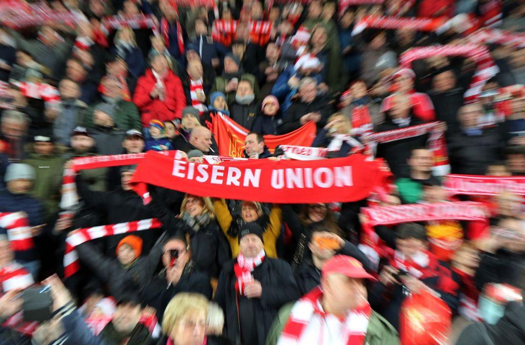 Die Fans von Union Berlin sind kein Operettenpublikum. Foto: Getty