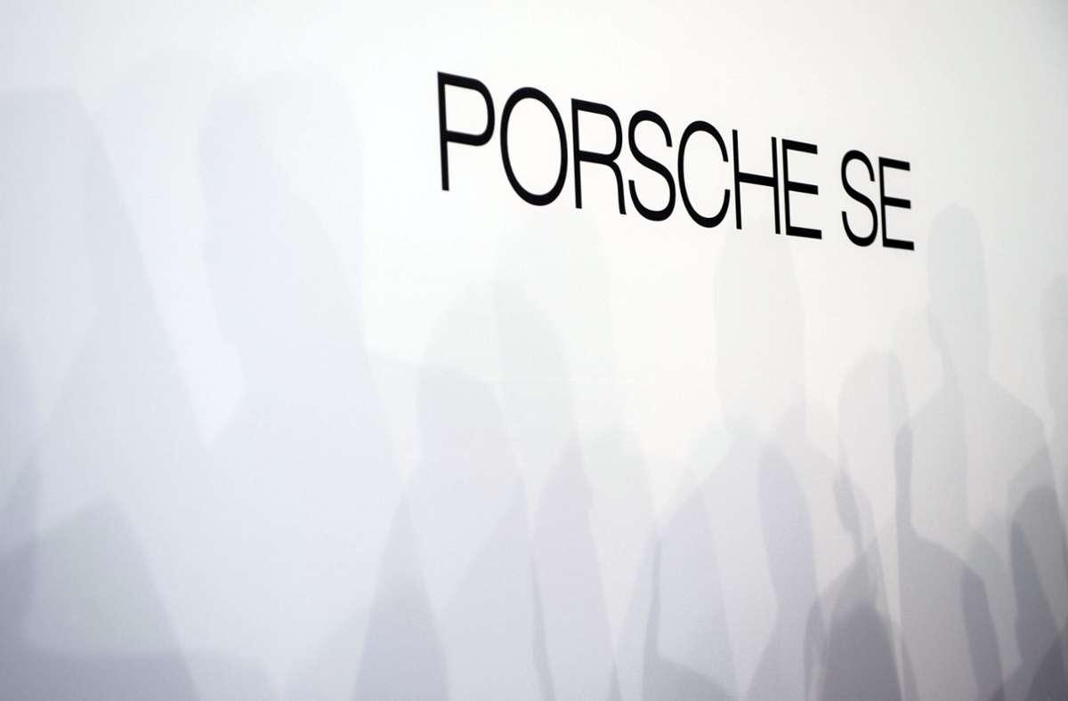 Porsche SE durch VW mit roten Zahlen. Foto: dpa/Lino Mirgeler