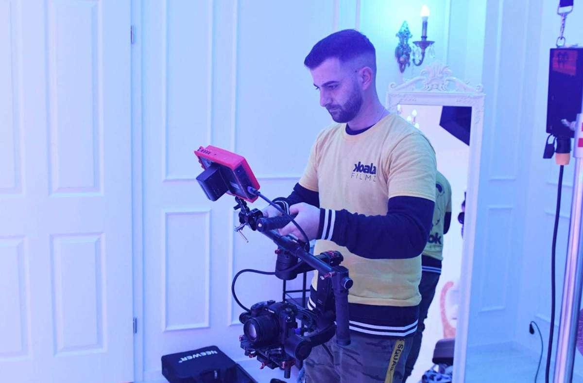 Seit sechs Jahren verdient Gianluca Mauro als Filmemacher sein Geld. Foto: Gianluca Mauro