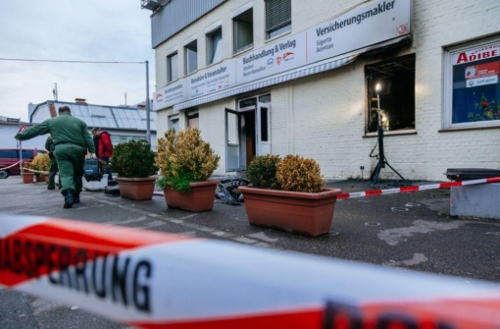 Auf ein Gebäude der Türkisch-Islamischen Union Ditib in Stuttgart ist ein Brandanschlag verübt worden. Verletzt wurde bei dem Feuer niemand. Foto: Getty Images Europe