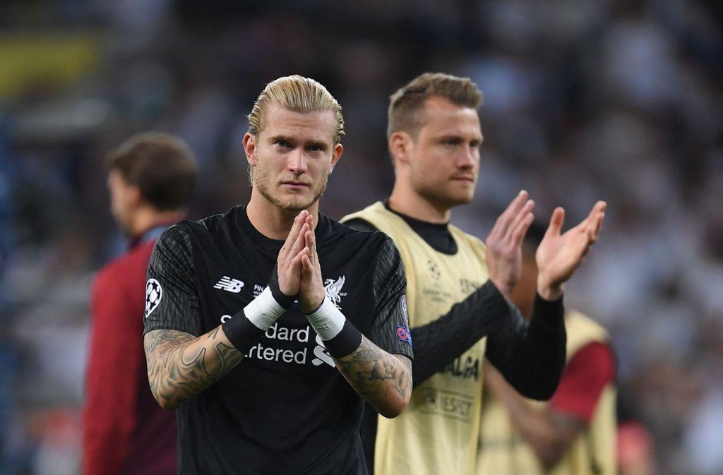 Loris Karius bittet um Entschuldigung bei den Fans – und diese zollen ihm Respekt. Foto: Getty Images Europe