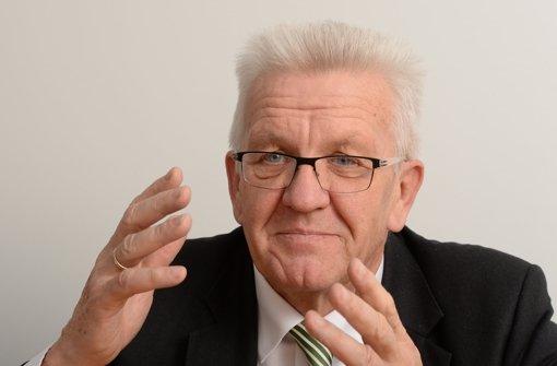 Kretschmann nimmt Stickelberger in Schutz