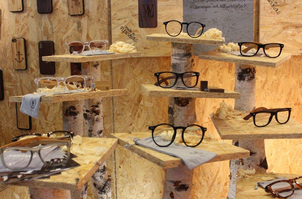 Auch für Brillenträger hat die Designmesse einiges zu bieten. Foto: 7aktuell.de/Rainer Hauenschild