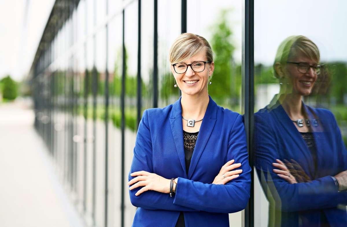 Mit 36 Jahren hat Katrin Albsteiger schon eine beachtliche politische Spur gezogen. Foto: /Matthias Schmiedel