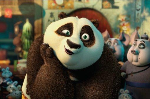Als Panda kann man auch beim Weltretten einen gemütlichen Eindruck machen. Foto: 20th Century Fox