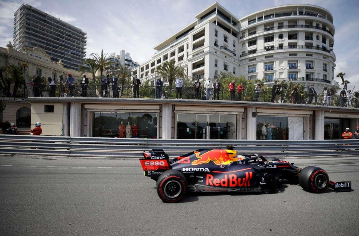 Der neue WM-Spitzenreiter Max Verstappen gewinnt den Großen Preis von Monaco. Foto: dpa/Luca Bruno