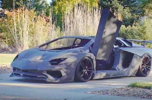 Vater und Sohn bauen Lamborghini  aus dem 3D-Drucker