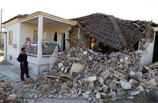 Starkes Erdbeben erschüttert Griechenland