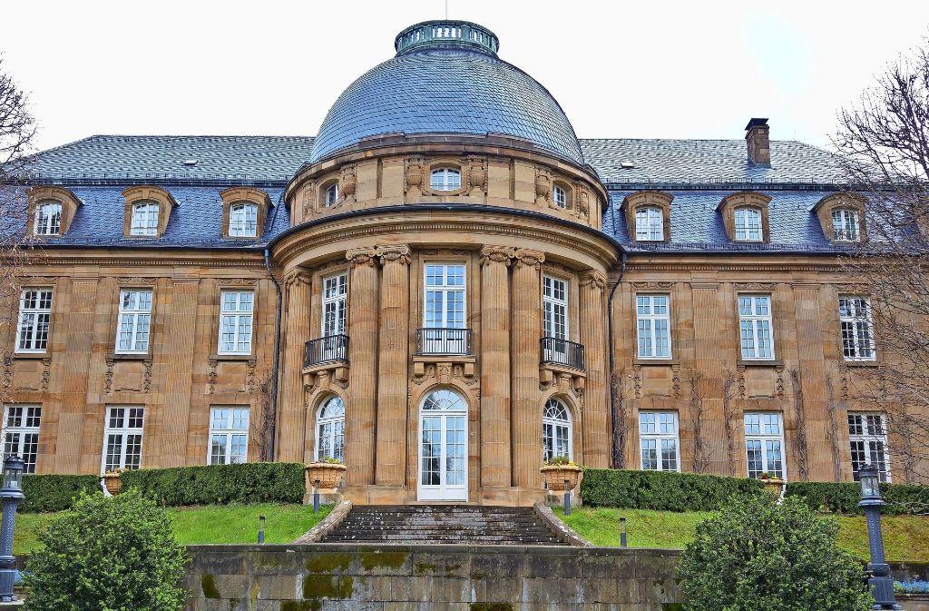 Der  Park der Villa Reitzenstein wird am Samstag zum Kino. Foto: Jürgen Brand