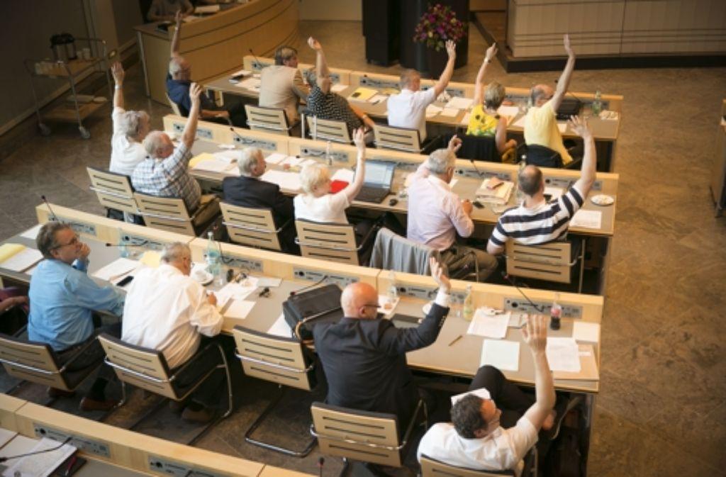 Die erste und zweite Lesung sparen? Im Gemeinderat entzündet sich Kritik an der Vernunftvereinbarung der CDU und den Grünen. Foto: Lichtgut/Leif Piechowski