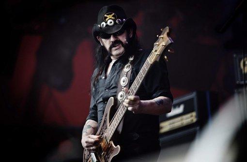 Motörhead-Sänger stirbt mit 70 Jahren