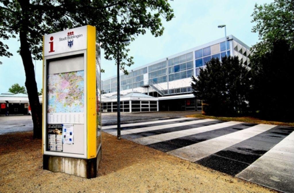 Die Stadthalle vor ihrem Abriss vor fünf Jahren Foto: factum/Archiv