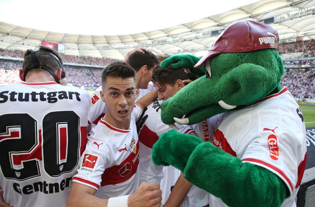 Der VfB Stuttgart sucht nach einem Assistenten für Fritzle. Foto: Pressefoto Baumann