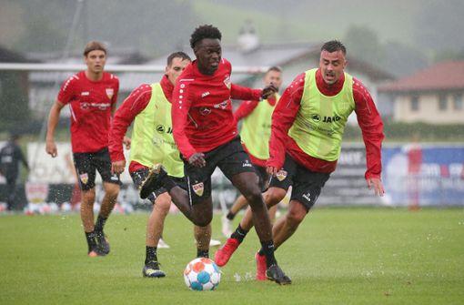 VfB II ohne Quintett, aber mit Ahamada in Balingen