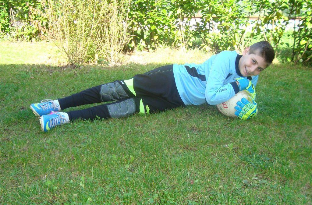 Pedram Cham war Torspieler im Verein. Er ist im Alter von 13 Jahren gestorben. Foto: privat