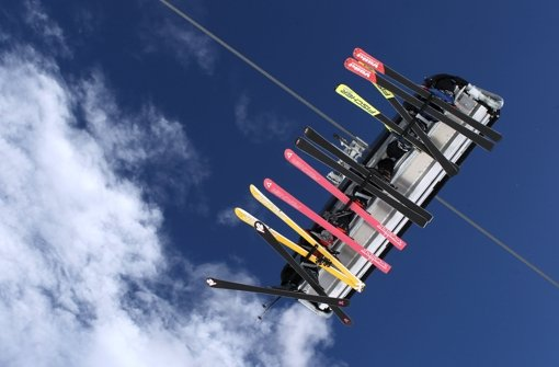 Skifahren in den Dolomiten