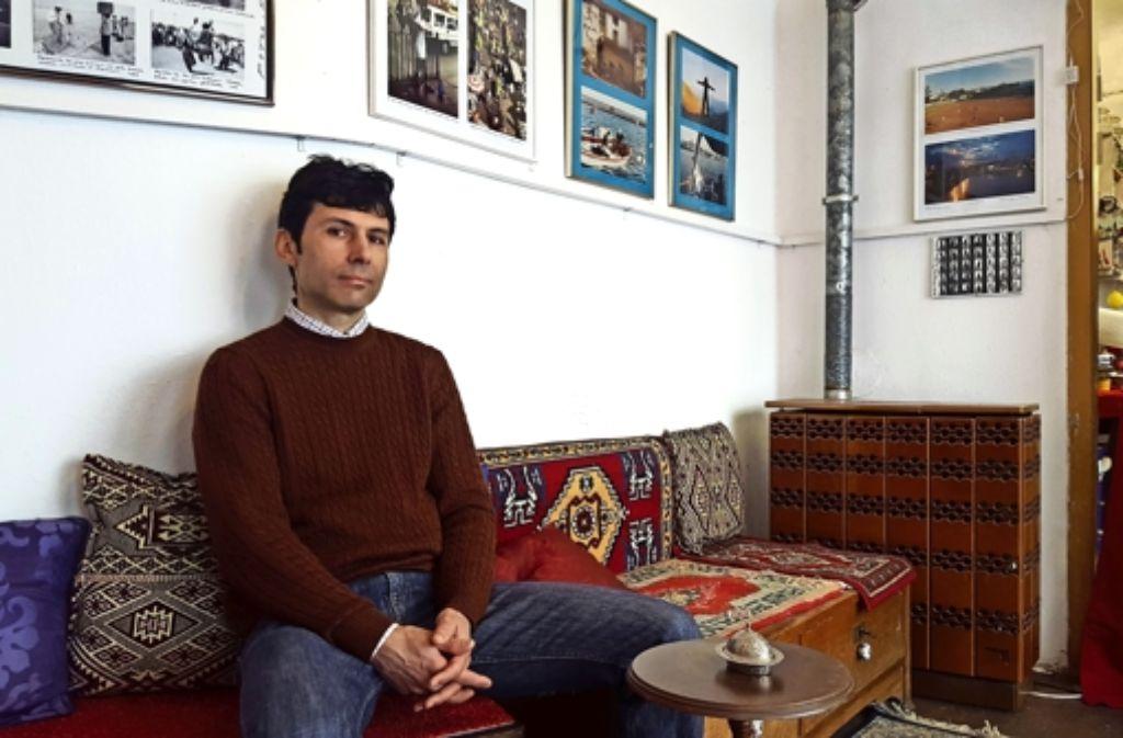 Seit 2012 lebt der  Fotograf und Filmer Kerem Saltuk im  Westen. Foto: Kathrin Wesely