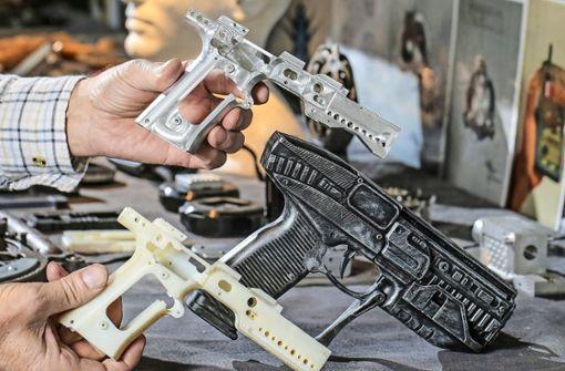 Verbot von Bauplänen für Schusswaffen aus 3D-Drucker