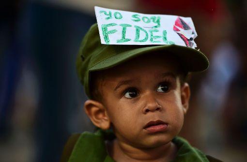 Kuba nimmt Abschied von Fidel Castro