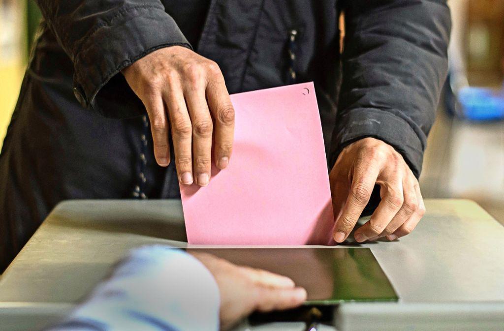 Am 26. Mai wählen die Stuttgarter den Gemeindrat: 913  wollen ins Gremium. Foto: dpa