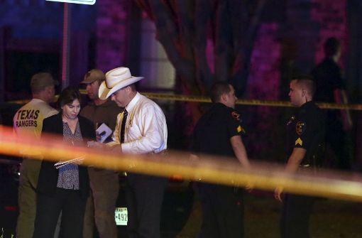 Acht Tote nach Schießerei in Texas