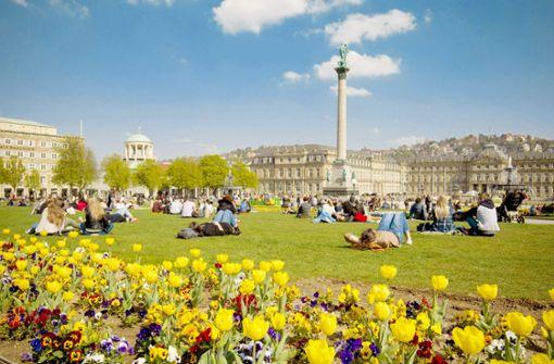 Stuttgart lechzt  im April nach Regen