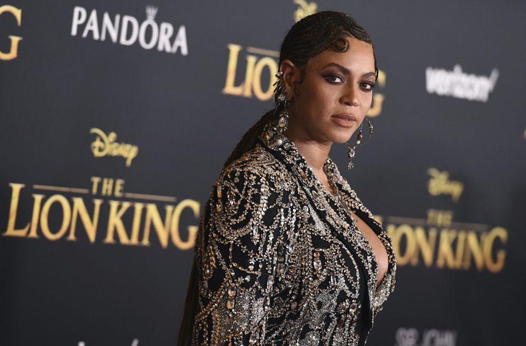 """Beyonce leiht ihre Stimme in """"Der König der Löwen"""" der jungen und wilden  Nala, der Freundin des Protagonisten Simba. Foto: AP"""