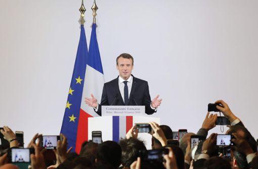 Macron und Merkel wollen gemeinsame China-Politik