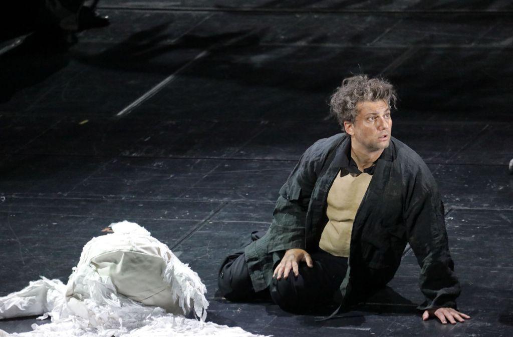 Jonas Kaufmann als Parsifal an der Bayrischen Staatsoper. Foto: Patricia Sigerist